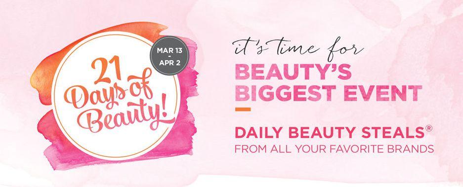 Ulta 21 Days of Beauty 2016 – Platinum Perks