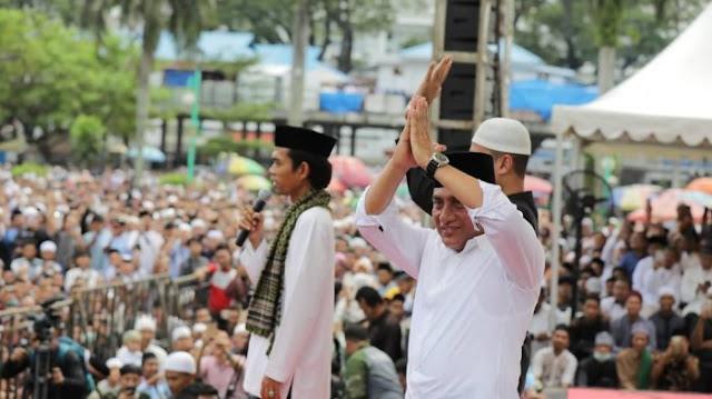 Contoh Pemimpin yang Baik, Gubernur Sumut Utamakan Shalat Jamaah dan Ramaikan Masjid