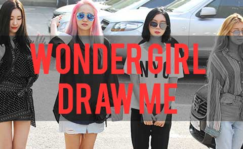 girl band wonder girl korea