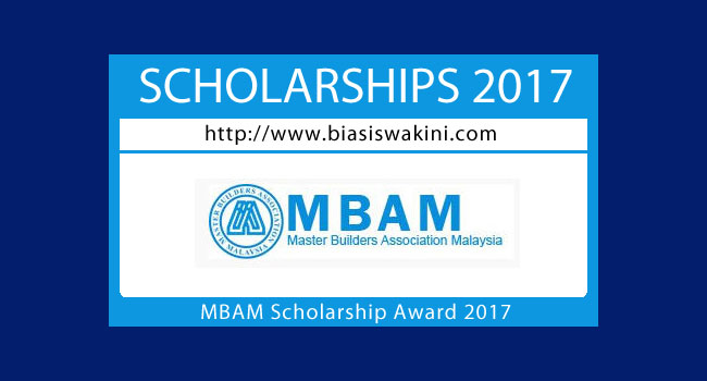 MBAM Scholarship Awards 2017