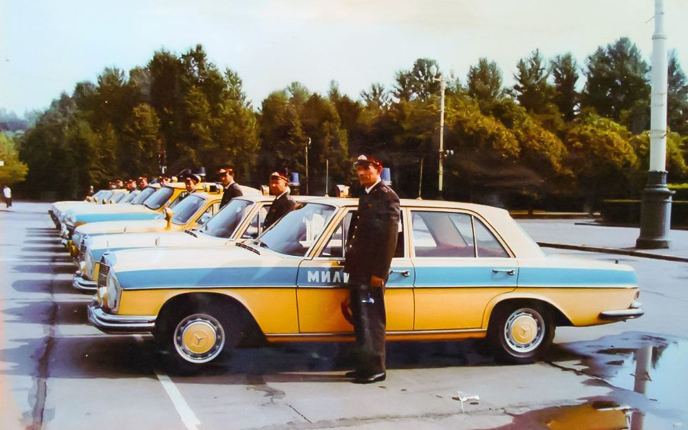 Where Are Nissans Made >> Porsches, BMWs, and Mercedes: Photos of Western-Spec Police Cars Used in the USSR ~ vintage everyday