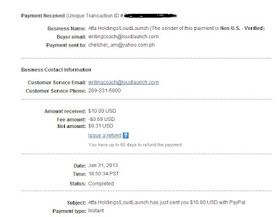 LoudLaunch Payment Proof