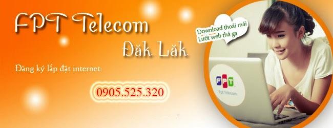 Lắp Đặt Internet Cáp Quang FPT Tại Đăk Lăk