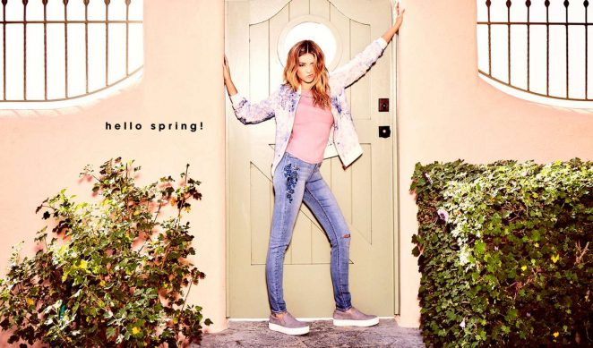 Candie's Spring 2017 Campaign featuring Sarah Hyland