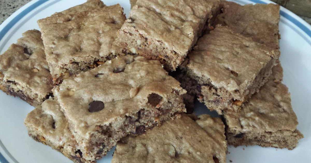 My Patchwork Quilt: BUTTERSCOTCH (CHOCOLATE) BARS
