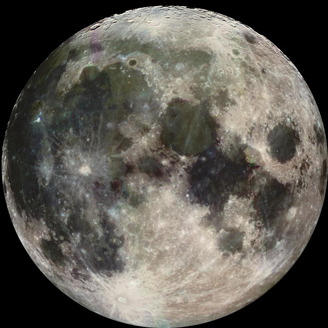 Fossilized feature records moon's slow retreat from Earth