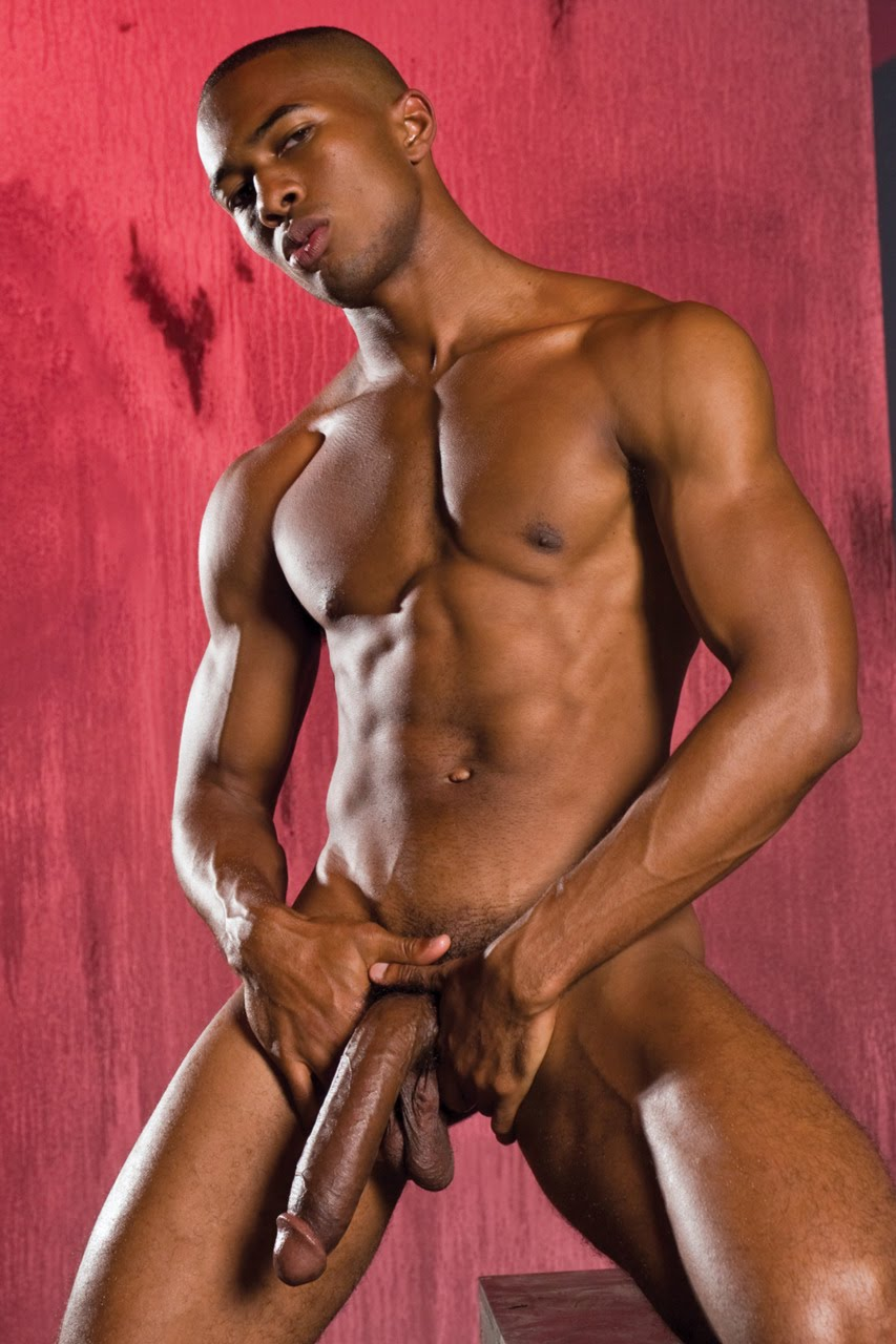 Sexy black man big dick