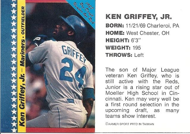 7b83da9019 The Junior Junkie: the Baseball Cards of Ken Griffey, Jr. and Beyond ...