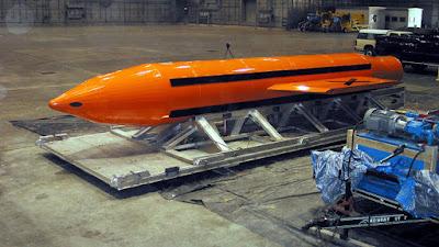 La bomba GBU-43, 'La Madre de Todas las Bombas'