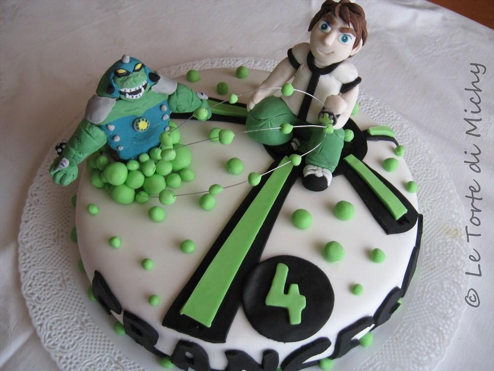 Torta Di Compleanno Ben 10 Le Torte Di Michy