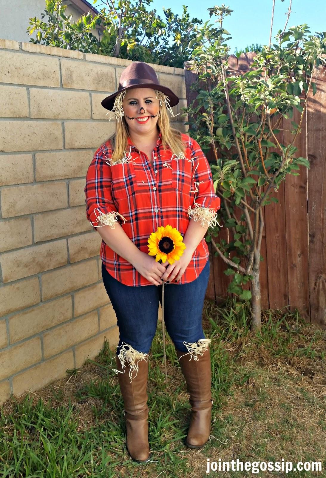 Join The Gossip: Scarecrow Halloween Costume