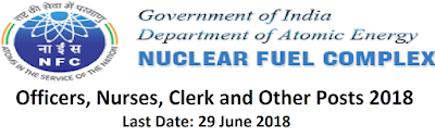 nuclear fuel complex recruitment