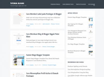 Template Blogku Daftar Google Adsense