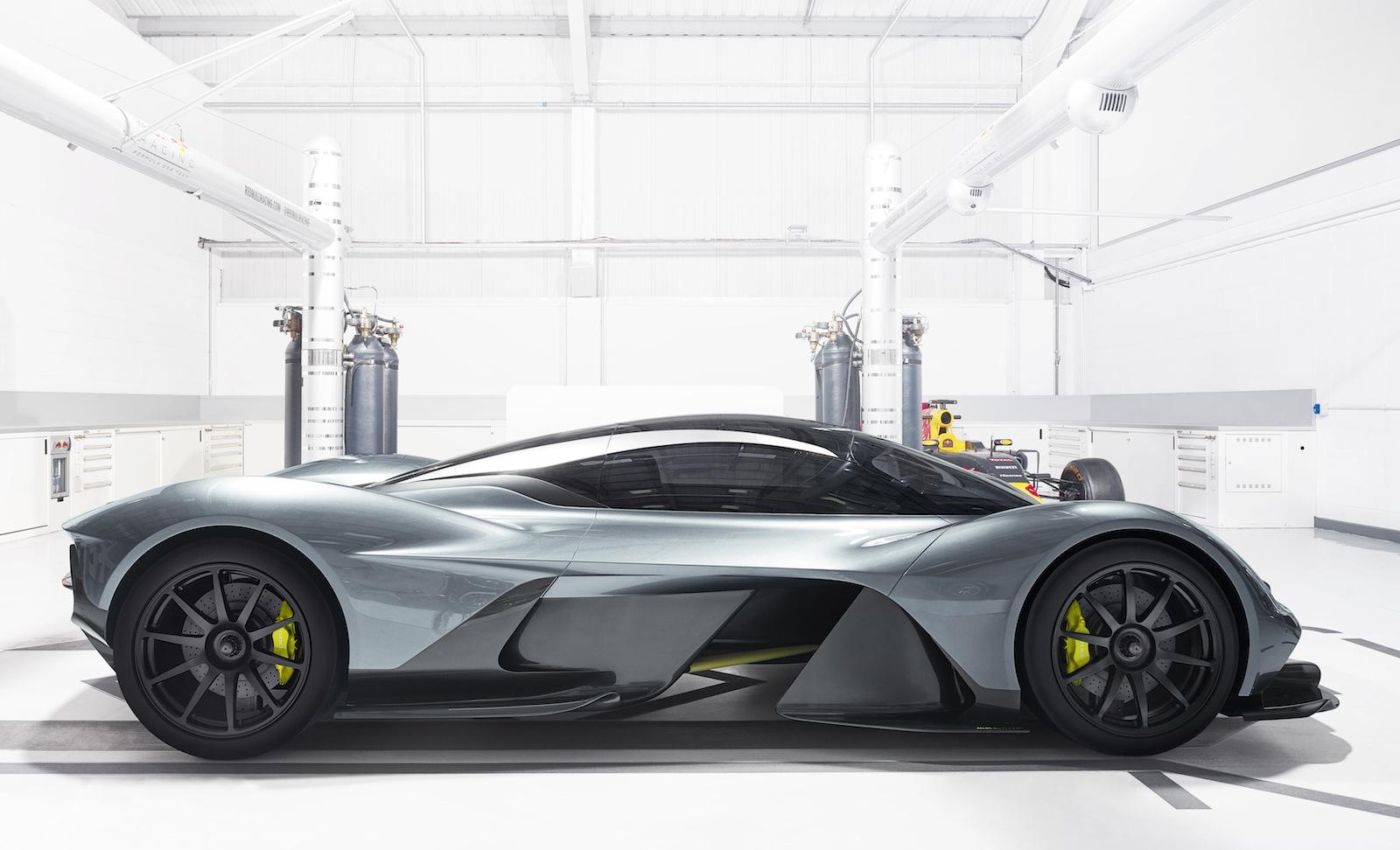 AM RB 001 sẽ là siêu xe đỉnh cao nhất của Aston Martin