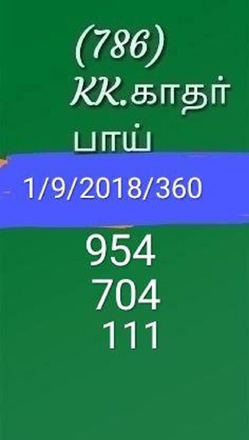 kerala lottery abc guessing karunya kr-360 on 01.09.2018 by KK