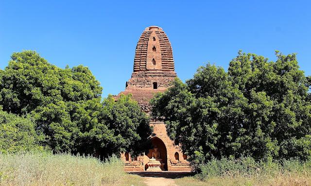 Temple, stupa et pagodes de Bagan en Birmanie