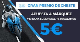 Paston promoción 5 euros si Márquez gana mundial MotoGP 2017