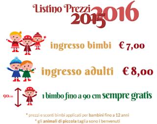Tariffe Santa Claus Village di Cesenatico