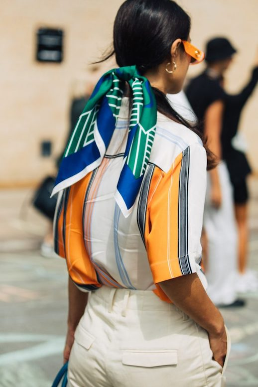 Add These 15 Silk Scarves To Your Hair This Season