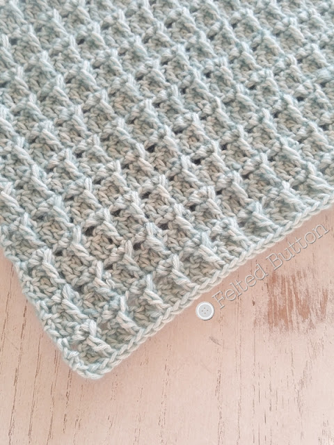 Scheepjes Stonewashed -- free crochet pattern coming soon from Felted Button