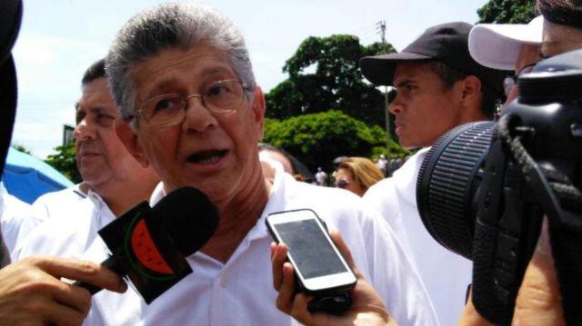 Ramos Allup: Se trata de salir de este Gobierno de forma constitucional y democrática