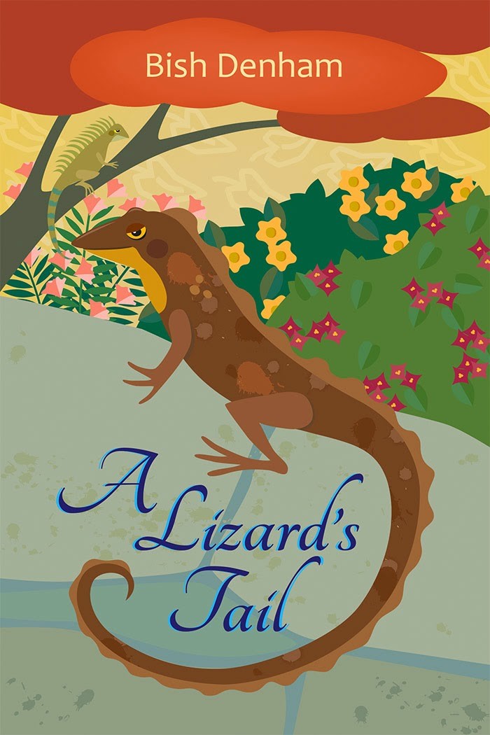 http://www.amazon.com/A-Lizards-Tail-Bish-Denham/dp/0986049433/ref=sr_1_7?ie=UTF8&qid=1413024573&sr=8-7&keywords=A+Lizard%27s+Tail