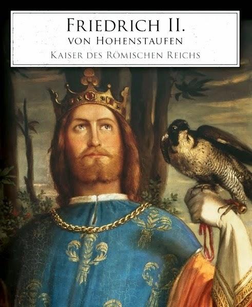 Resultado de imagen para Fotos Federico II, del Sacro Imperio Romano Germánico, se declara a sí mismo rey de Jerusalén