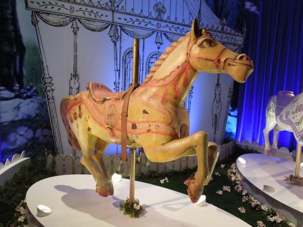Original Mary Poppins carousel horse