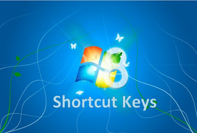 list of shortcutkeys for windows 8