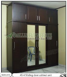 Lemari pakaian unit minimalis cabinet 4S