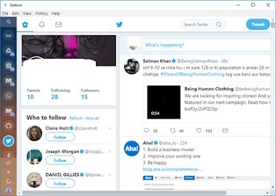 Cara Membuka Gmail, Twitter, Slack, WhatsApp dan Aplikasi Kerja lainnya dari Satu Platform