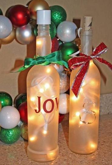10 Inspirasi Kreatif Menciptakan Hiasan Natal Dari Botol