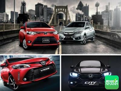 Giữa Toyota Vios 2017 và Honda City, tôi biết chọn xe nào 03