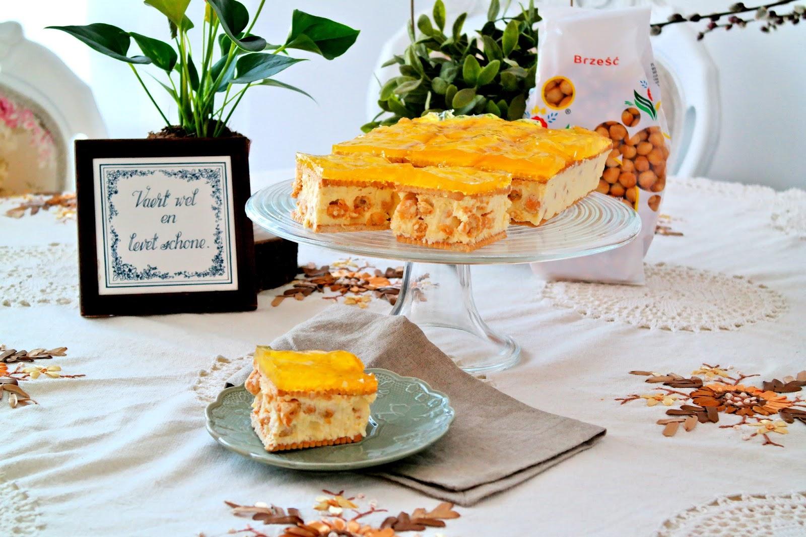 ciasto z groszkiem ptysiowym