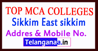 Top MCA Colleges in Sikkim East Sikkim