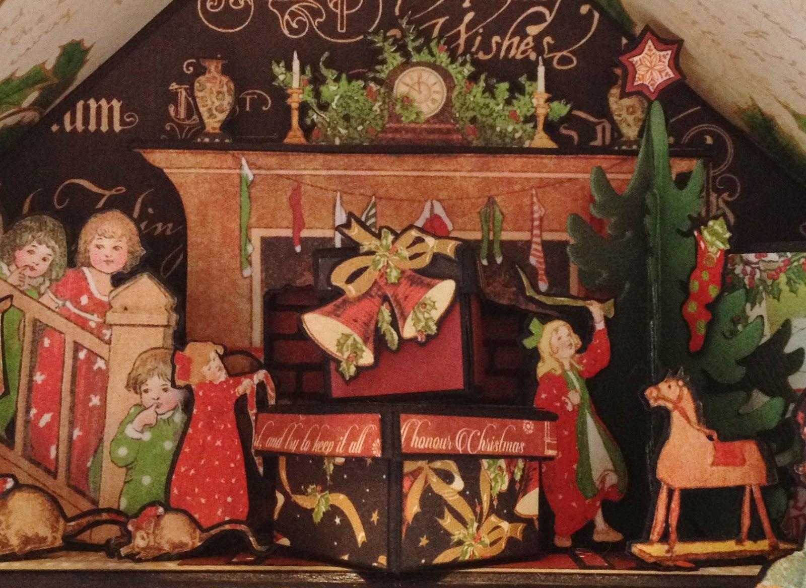 Annes Papercreations Christmas Advent Calendar Tutorial