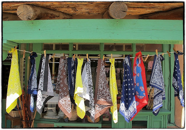 Cowboy scarves, Taos