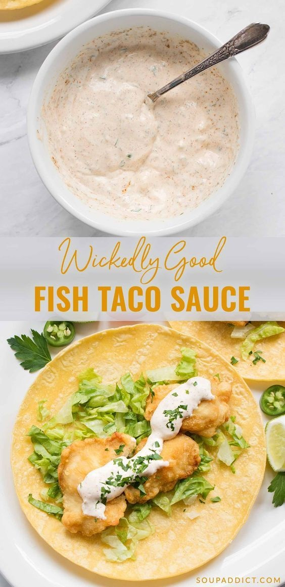 Wickedly Good Fish Taco Sauce
