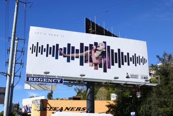 Ariana Grande Grammys 2019 billboard