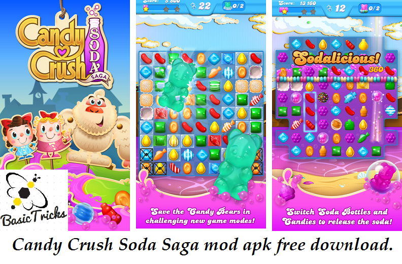 Amazing PC Software: Candy crush soda saga mod apk Unlimited Lives ...