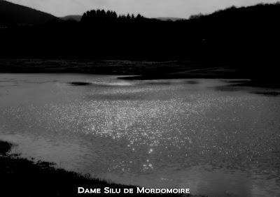 lac noir et blanc