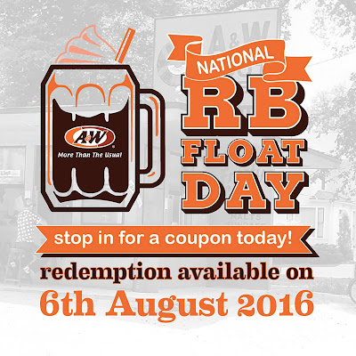 A&W Malaysia Free Root Beer Float Giveaway