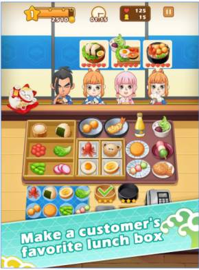 Game Memasak Terbaik Lunch Box Master MOD APK