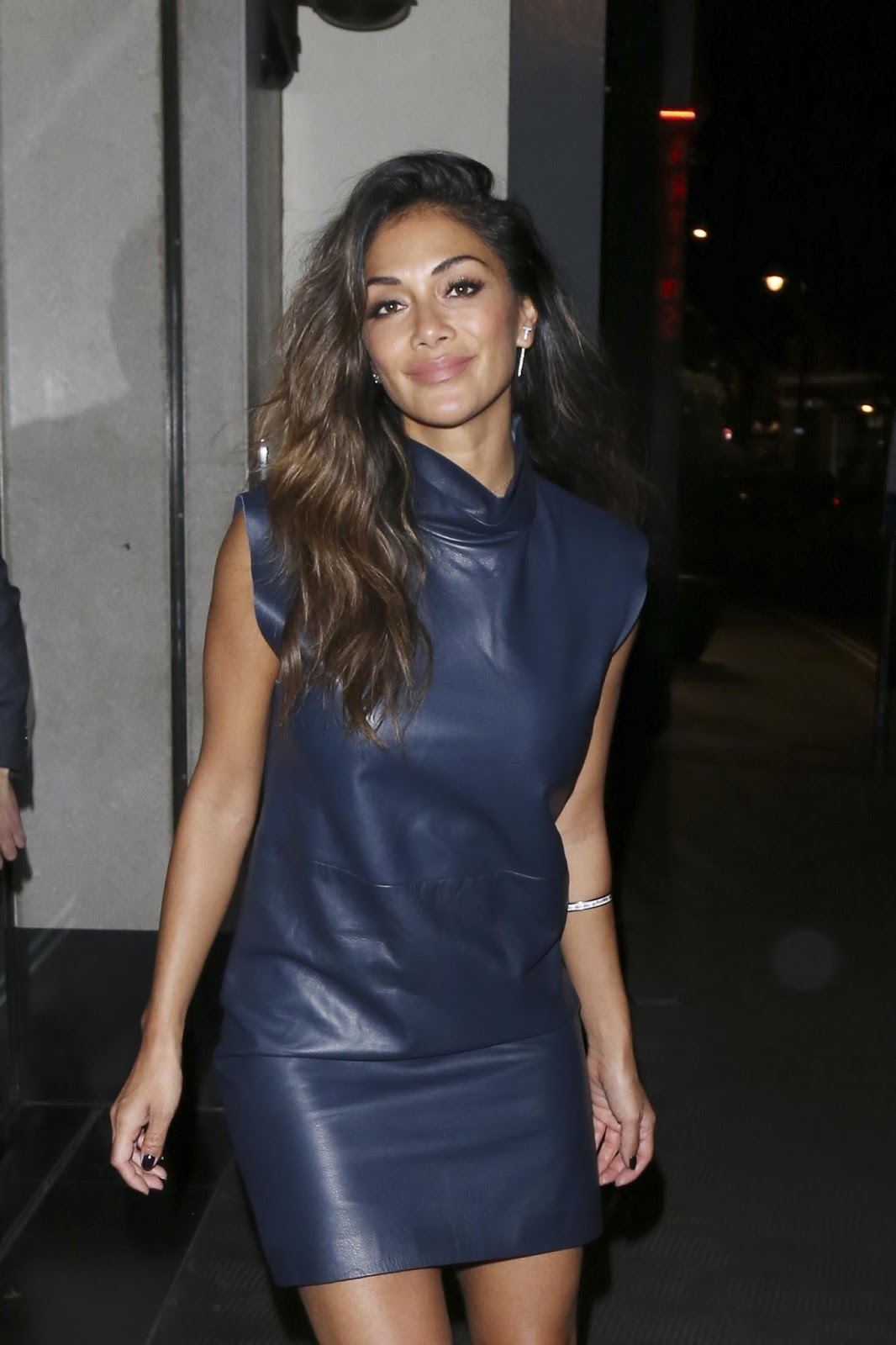 Lovely Ladies in Leather: Nicole Scherzinger in a leather ...