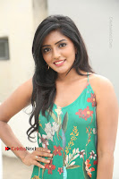 Actress Eesha Latest Pos in Green Floral Jumpsuit at Darshakudu Movie Teaser Launch .COM 0131.JPG