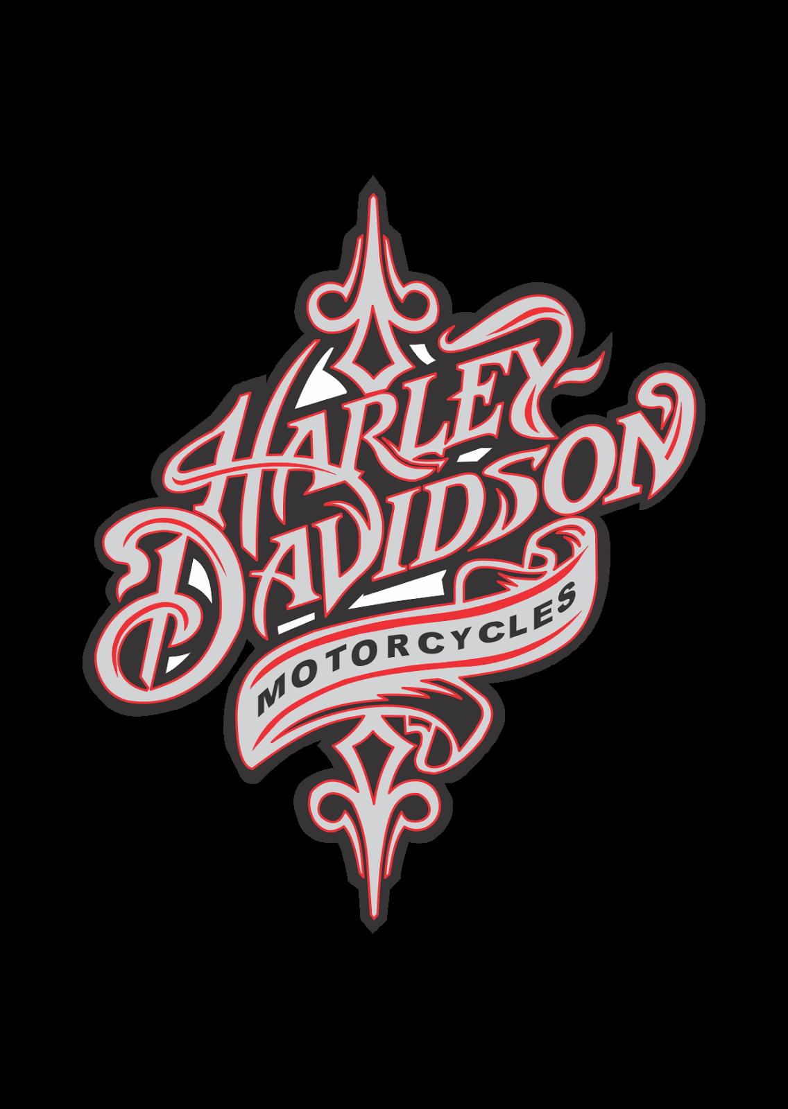 Harley Davidson Motorcycles Logo Vector Motorcycle