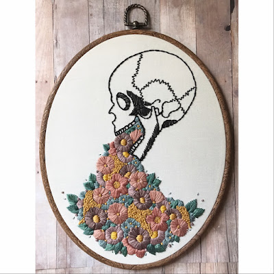 Edgy Embroidery by Renee Rominger of Moonrise Whims