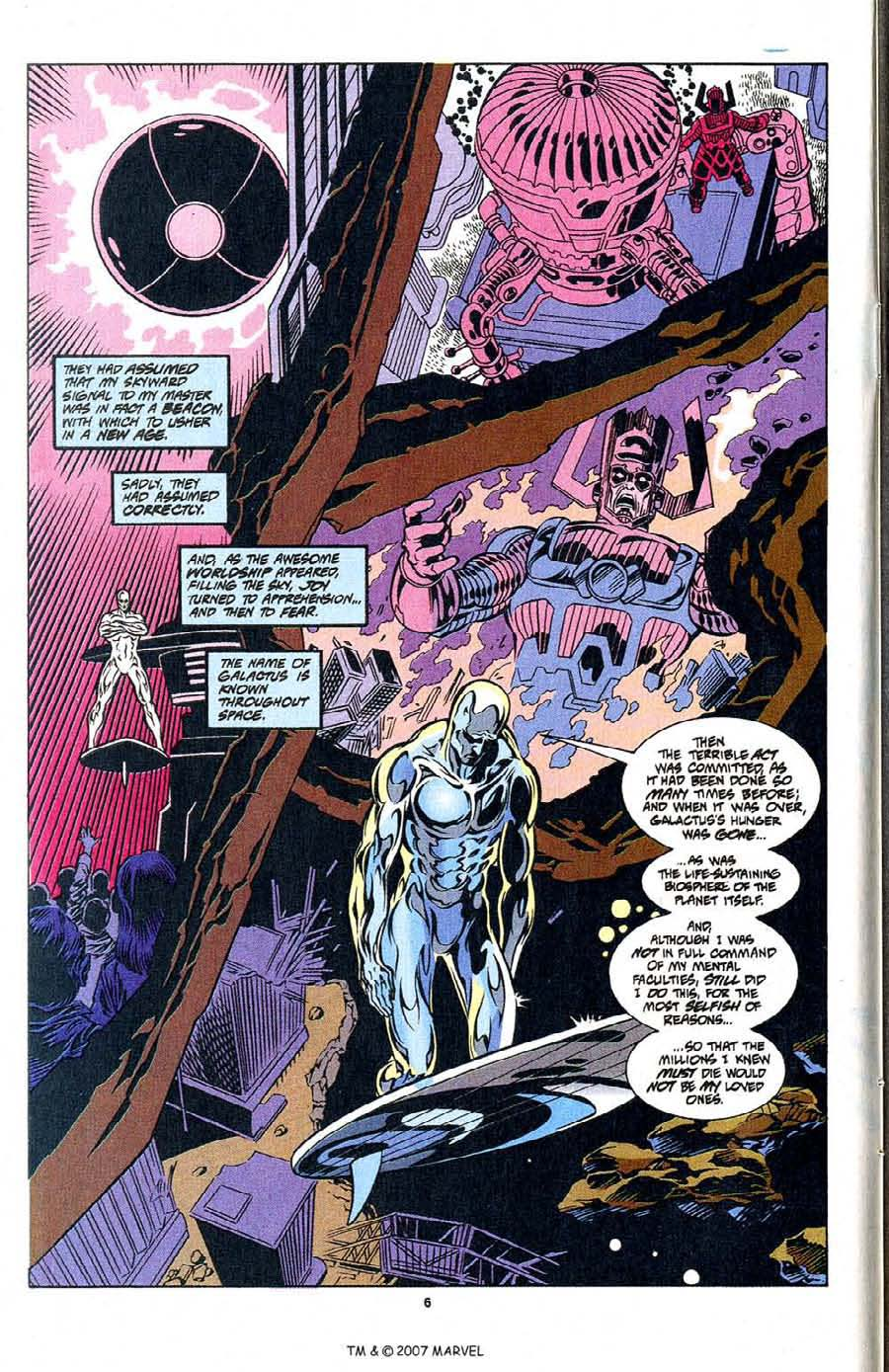 Silver Surfer (1987) Issue #104 #112 - English 8