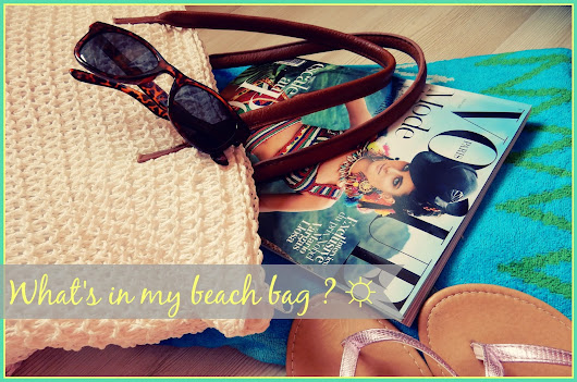 What's in my beach bag ? ☼