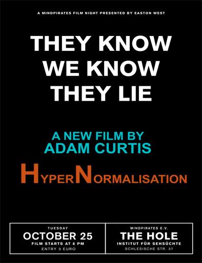 Ver HyperNormalisation (2016) Online
